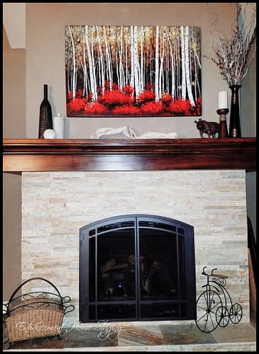 How to stage a mantle